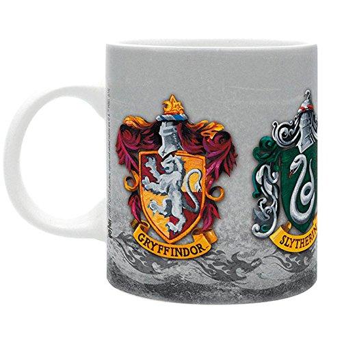 AbyStyle–Harry Potter Mug The 4Houses Box for Adults, abymug285