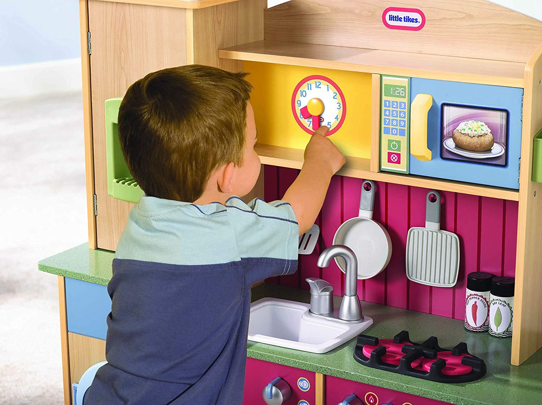 Little Tikes Cooking Creations Premium Kitchen Toptoy