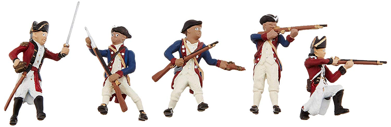 Woodland Scenics Scene Setters(R) Figurines-Revolutionary War Soldiers 5 kg