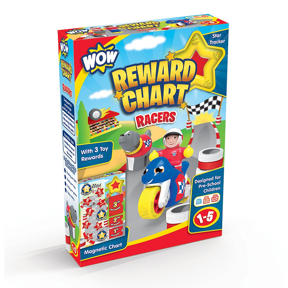 WOW Toys Reward Chart – Racers