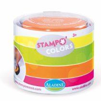 "Aladine 3085153 ""Stampo Colors Fluo"" Stamp Pad Set (4-Piece)"