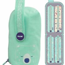 Berrywood Multi Oval Pencil Case – Green