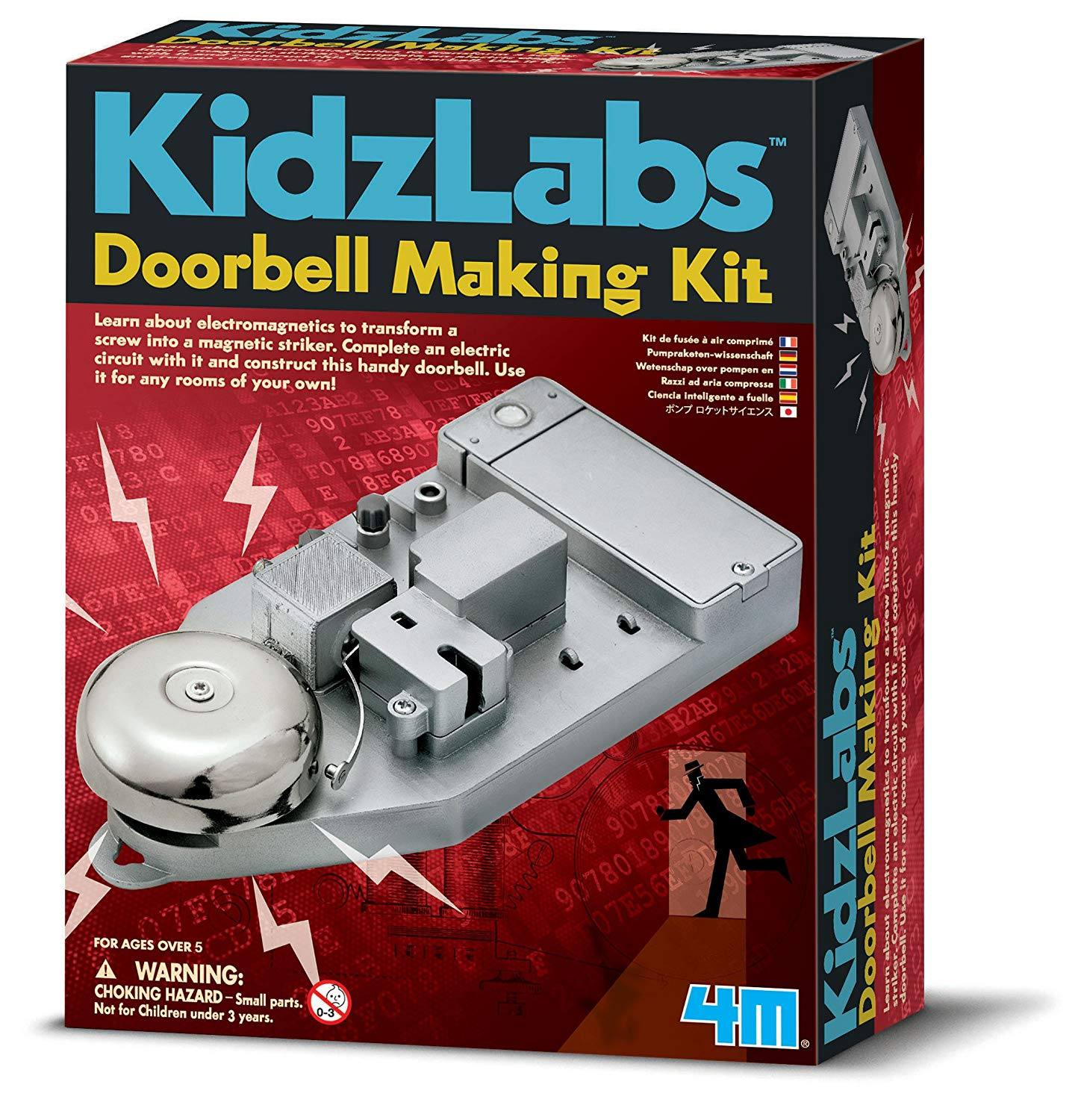 4M Kidz Labs Doorbell Making Kit