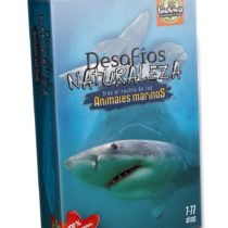 Bioviva 281010 Nature Challenges Animals-Animales Marinos Card Game, Multi-Color