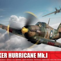 Airfix A01010 1: 72 Scale Hawker Hurricane MK1 Model Kit