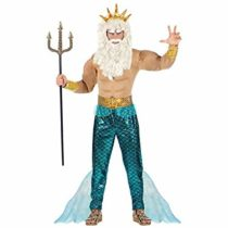 WIDMANN Poseidon 08752 Adults' Costume Multi-Coloured