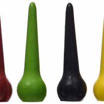 ökoNORM 70615 Wax Crayons Raindrop-Shaped