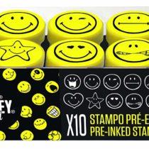 Aladine 03626STAMPO Easy Stamp Set, Black, Yellow