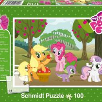 Schmidt Spiele 56058Hasbro My Little Pony The Apple Harvest, 100Pieces