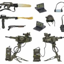 Alien 51630 USCM Arsenal Weapon Deluxe Accessory Pack