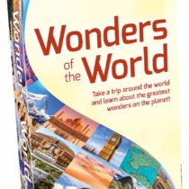 Tactic 55835 Wonders of The World Game, Multi