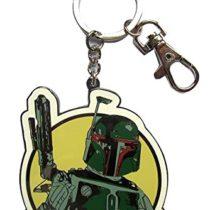SD Toys SDTSDT89364, Metal Keyring, Star Wars, Boba Fett