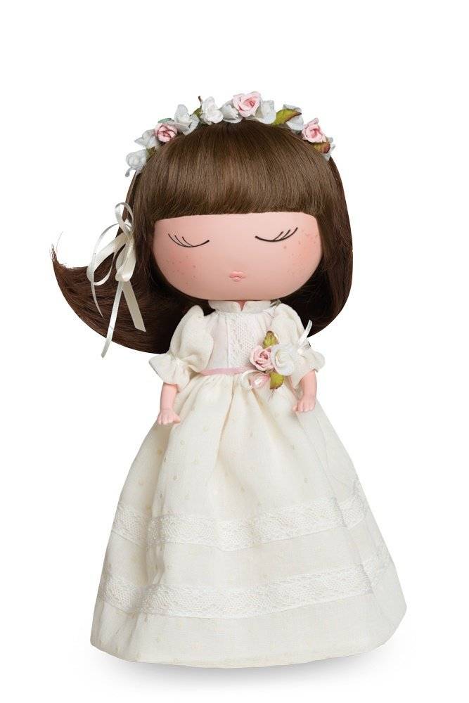 Anekke 20600MU Berjuan_20600 Ceremony Doll with Flower Crown, Multicolor