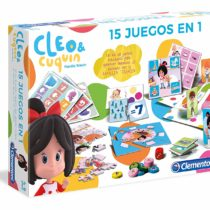 Clementoni – Educacion Children Cleo and cuquin, Multicoloured (55246)