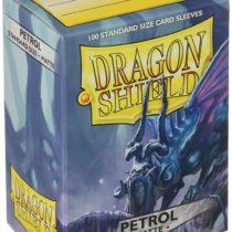 Arcane Tinmen ART11020 Dragon Shield mat: petrol, 100 pieces