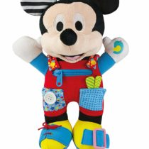Clementoni Disney Baby Mickey Mouse Plush–habille-moi.–52280–First Age