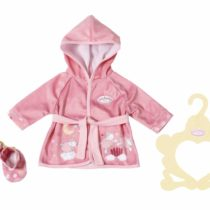 Baby Annabell 701997 SweetDreams Bademantel43cm Sweet Dreams Robe 43cm, Multi