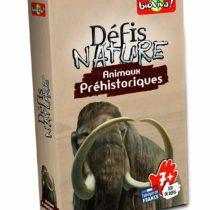 Bioviva 282673 Nature Challenges Prehistoric Animals Card Game, Multi-Color