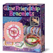 "4M ""Glow in The Dark Friendship Bracelet (Multi-Colour)"