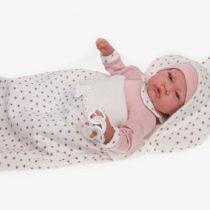 ANTONIO JUAN aj3372–Nacida Saco Doll Realistic, Pink