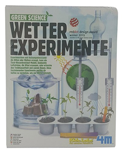 "4M ""Green Science Weather Science Toy (Multi-Colour)"