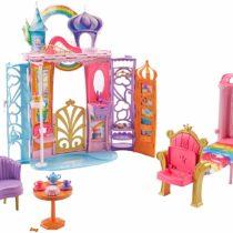 Barbie FTV98 FANTASY Fairytale Portable Castle Dreamtopia, Colourful Playset, Accessories, House, Multi