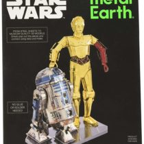 Metal Earth MMG276 502667″ Star Wars R2-D2 and C-3PO Construction Toy